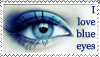 I love blue eyes by annSy
