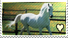 White horse heart by Mister-MX