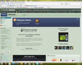 rainmeter 200k by Mister-MX