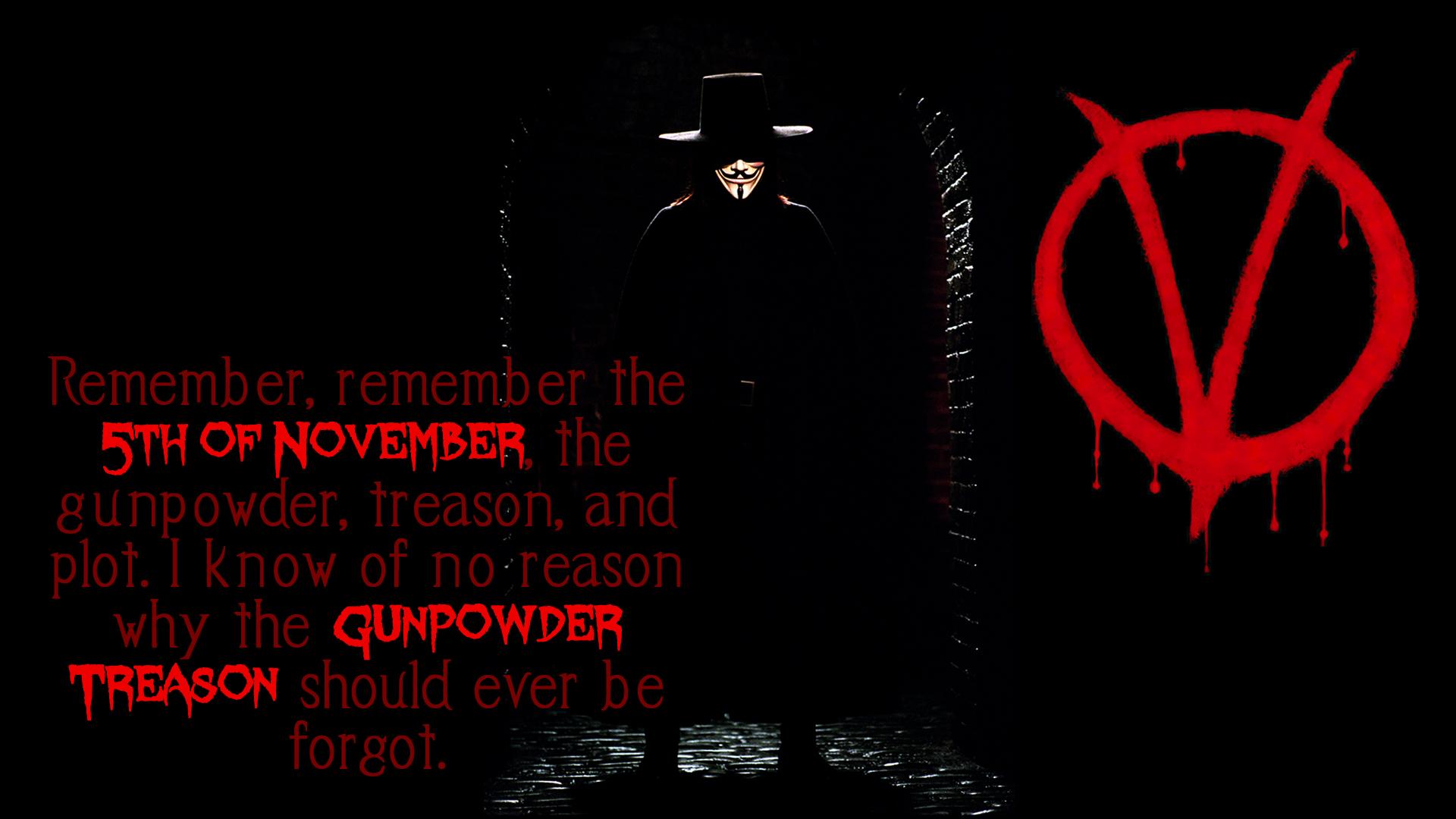V For Vendetta Hd Wallpaper 1920x1080 By Swagirr On Deviantart