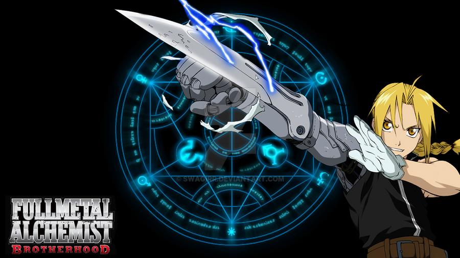 Fullmetal Alchemist Brotherhood - Edward Elric by Swagirr ...