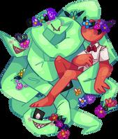 100% plant romance by dorklets