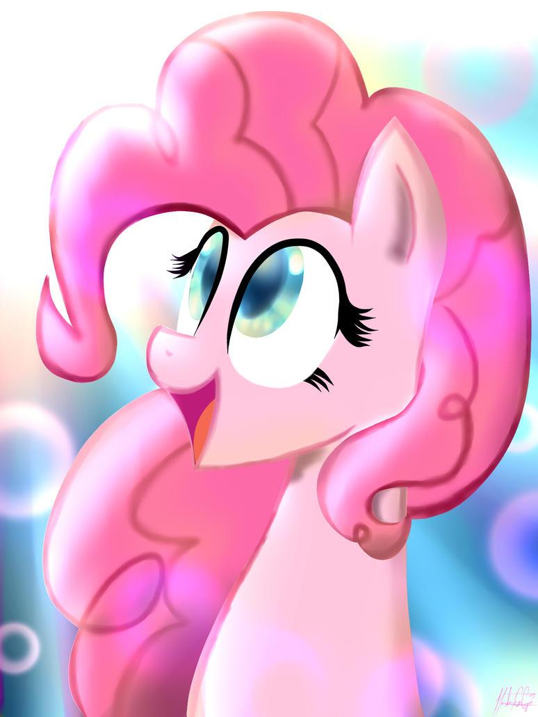 Pinkie Pie by Moobew