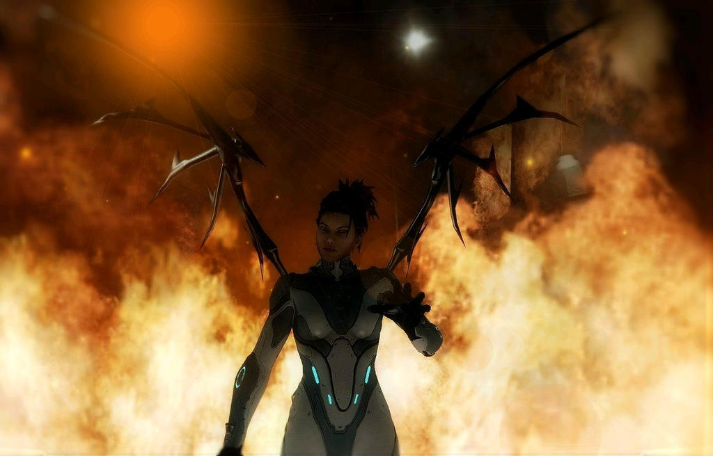 Queen of Blades wrath by THRAXX21