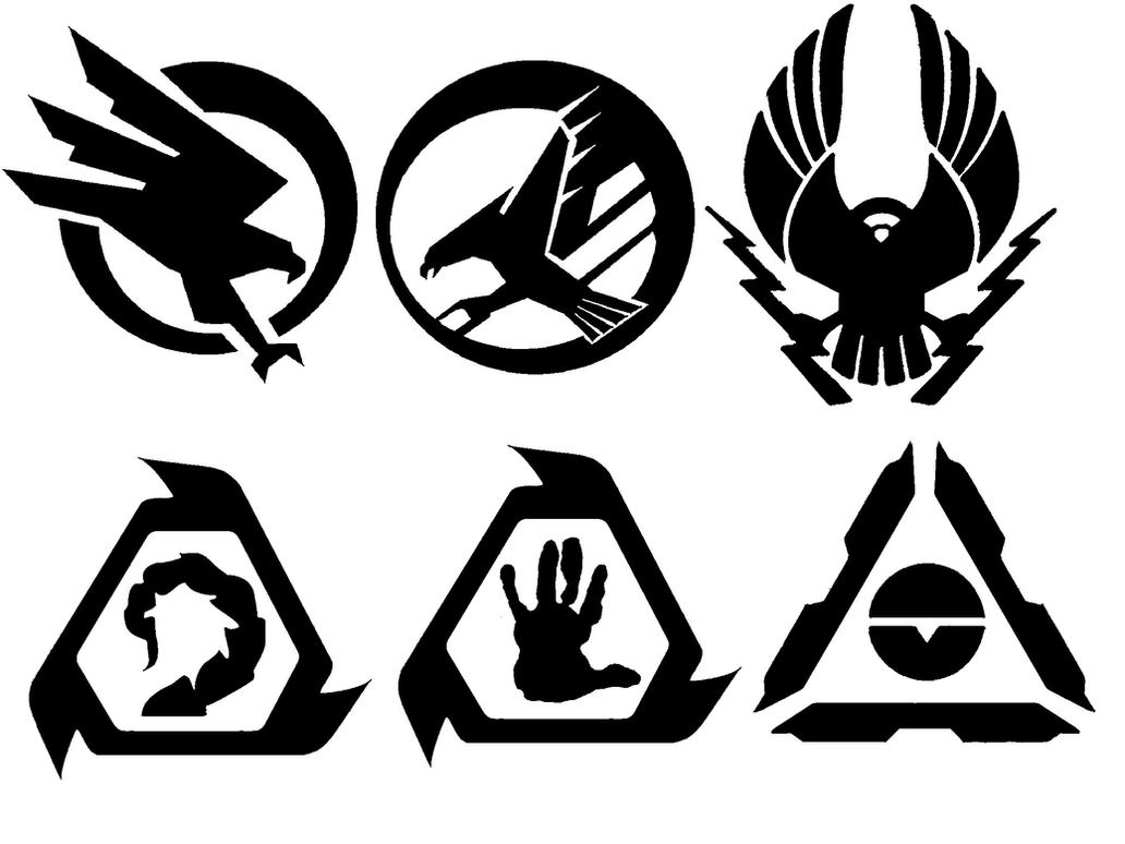 faction symbols gdi and nod by bioblood on deviantart