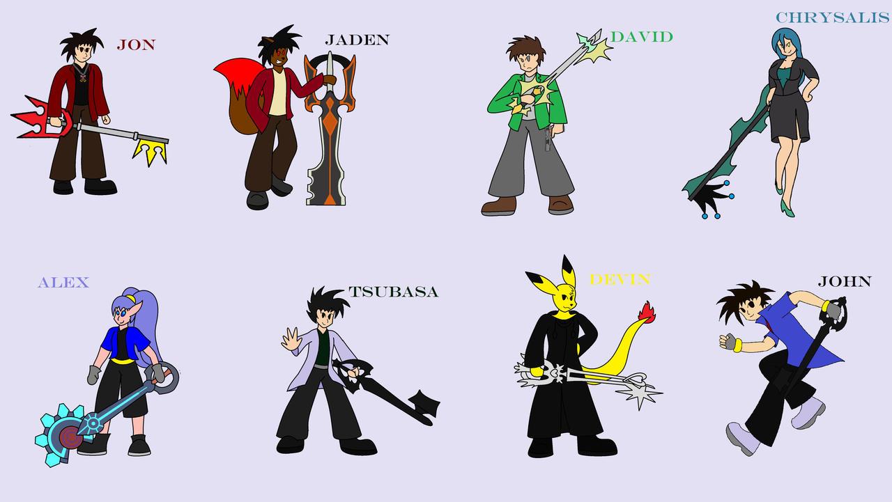 Oathkeeper And Oblivion Keyblades Keyblade Weilders By Bioblood