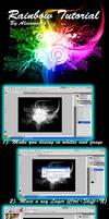 Rainbow Tutorial in Photoshop