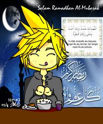 Happy Fasting by Saki7Strife
