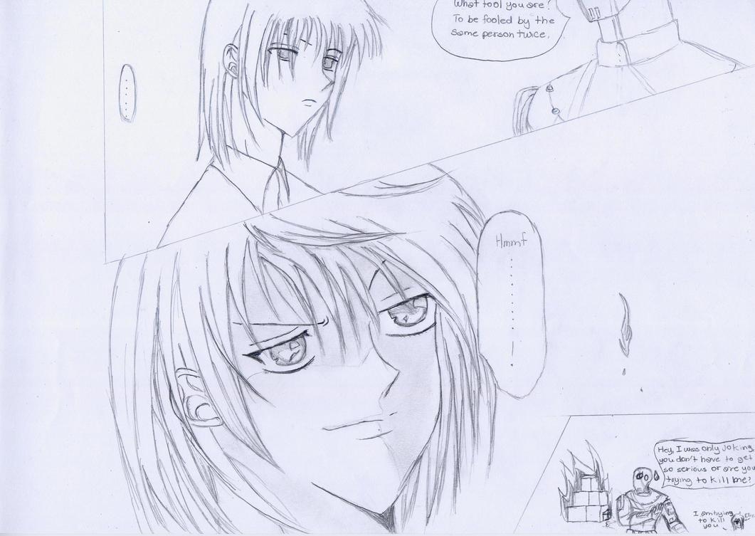 Manga- Slade and Eliza by shadow1784