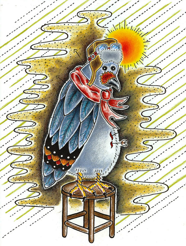 Carrier Stool Pigeon by 1-Dollarmenu-1 on DeviantArt