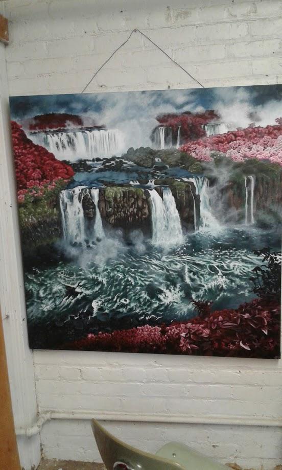 Eden's Waterfalls by juneNOSNOW