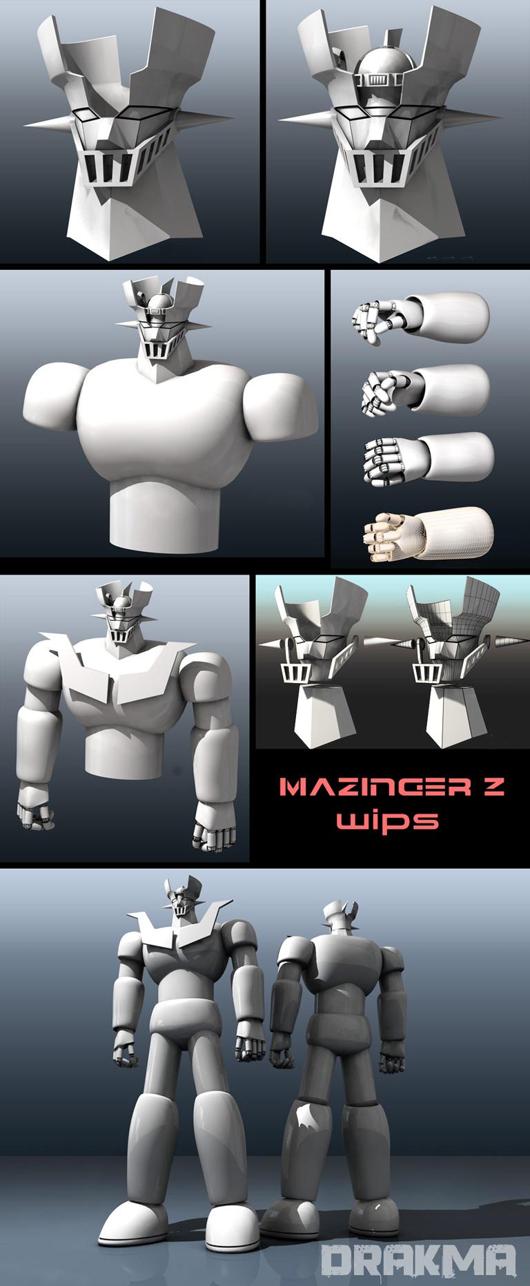 Mazinger Z W.I.Ps by DrAkMa