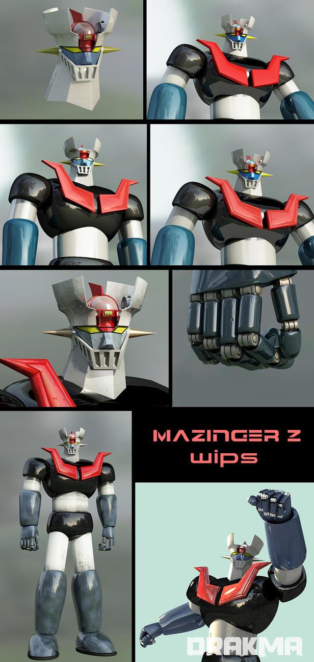 Mazinger Z W.I.Ps 2 by DrAkMa