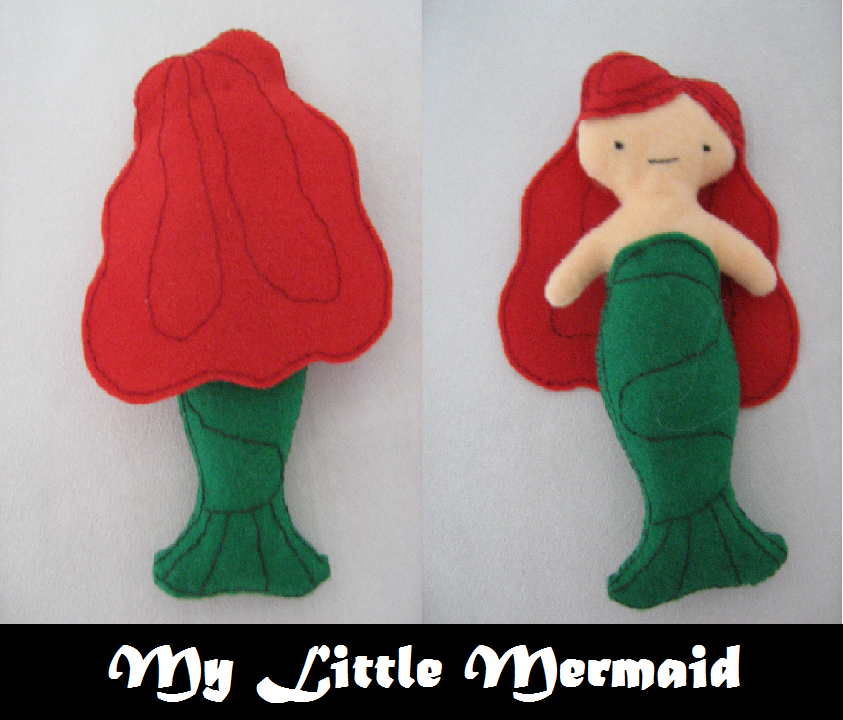 My Little Mermaid Plushie by LasManiaticas