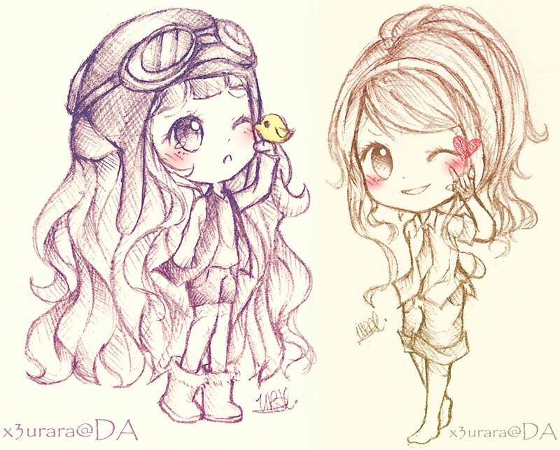 Even Moar sketches by x3urara