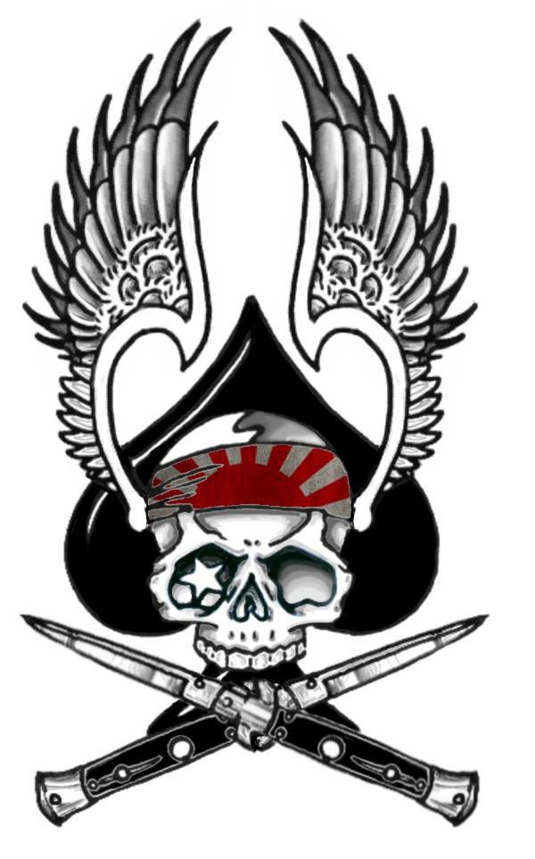 kamikaze zero logo by mange