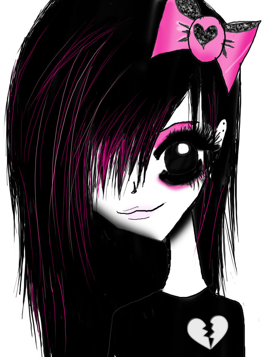 Emo girl by angie2d on deviantart emo girl by angie2d emo girl by angie2d voltagebd Choice Image