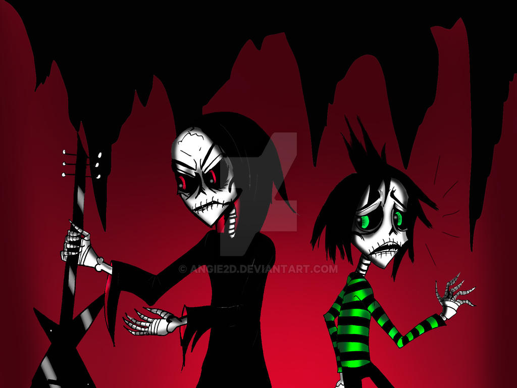 THIS IS NOT A SCYTHE JOHNNY by angie2d