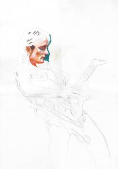 Def Leppard - Phil Collen Portrait