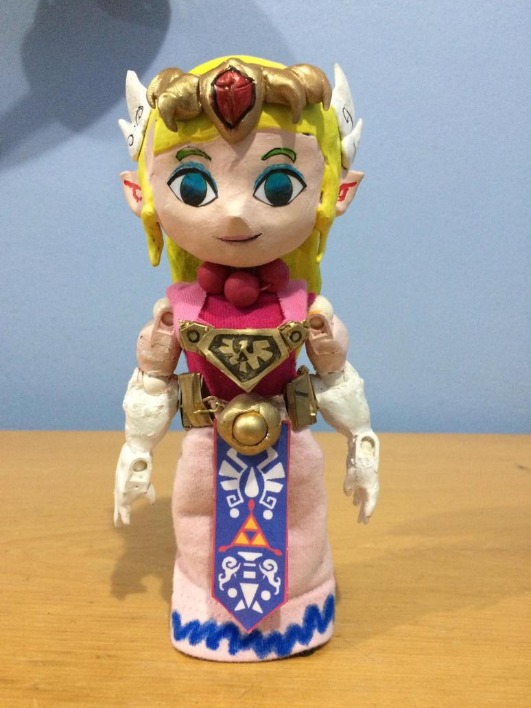 Toon zelda custom figure by Tomistral