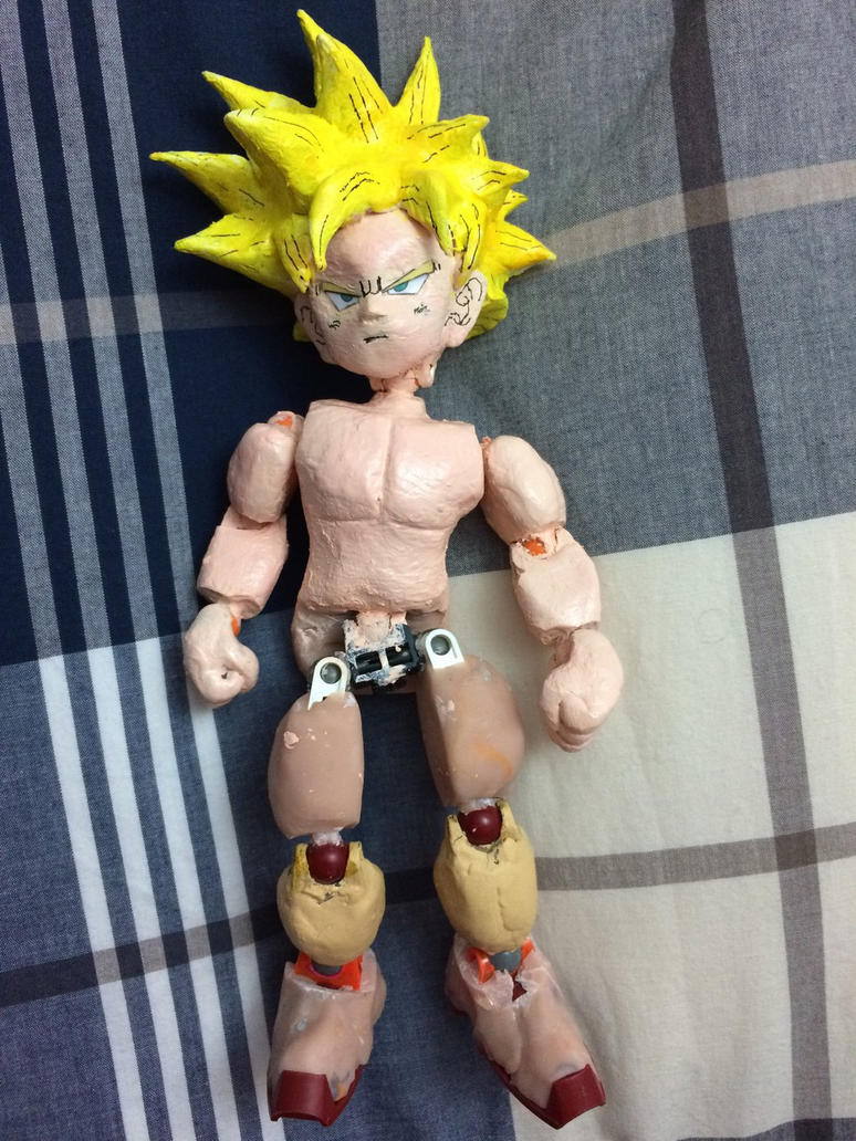 Teen Gohan SSJ Figure Project ( unfinished ) by Tomistral