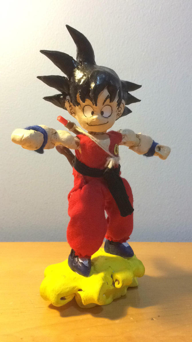 Kid Goku Custom Figure by Tomistral
