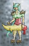 Zammit's Mystery Character by Metal-Truncator