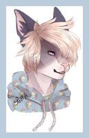 [Doodle] Headshot for Deadfur801 [Tea] by HorribleRed
