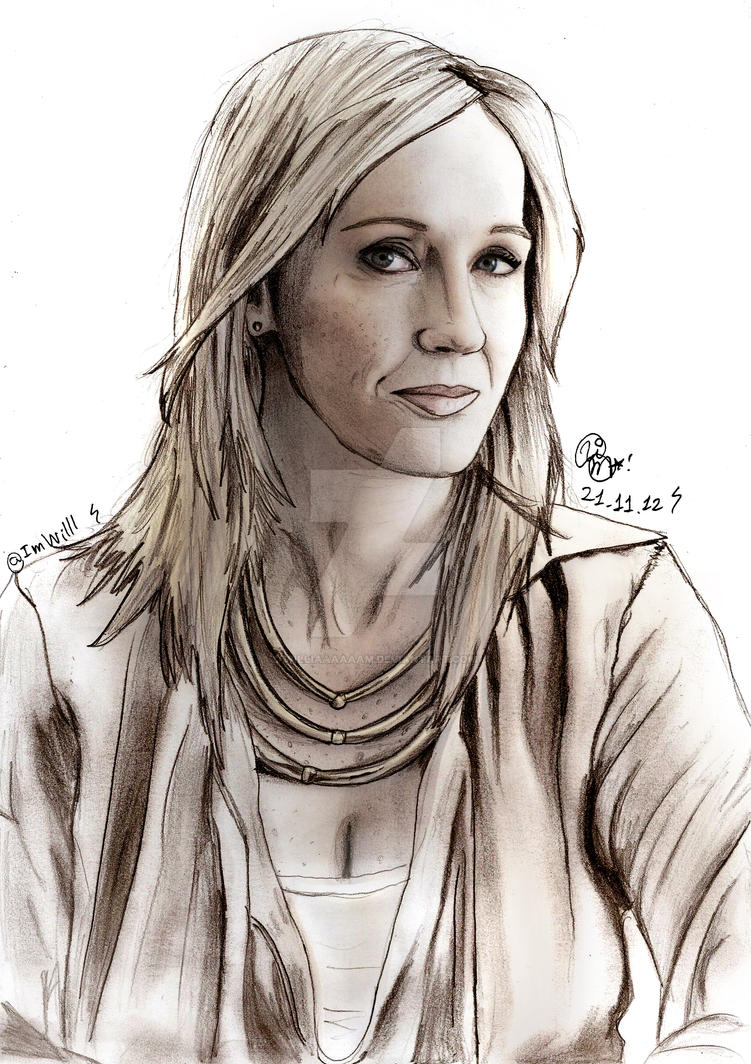 Joanne Kathleen Rowling by Williaaaaaam