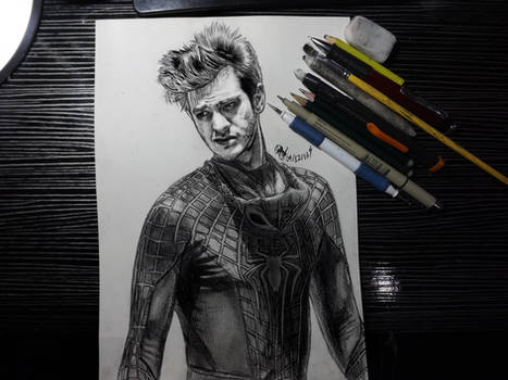 Andrew Garfield as The Amazing SpiderMan