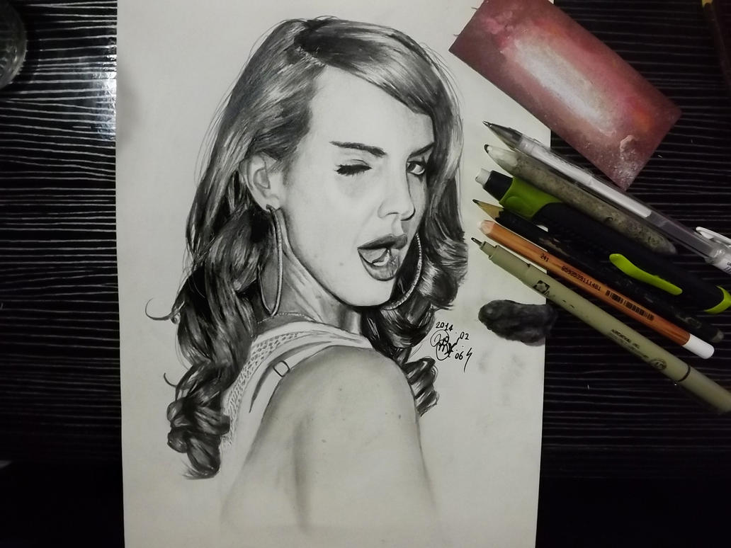 Lana Del Rey by Williaaaaaam