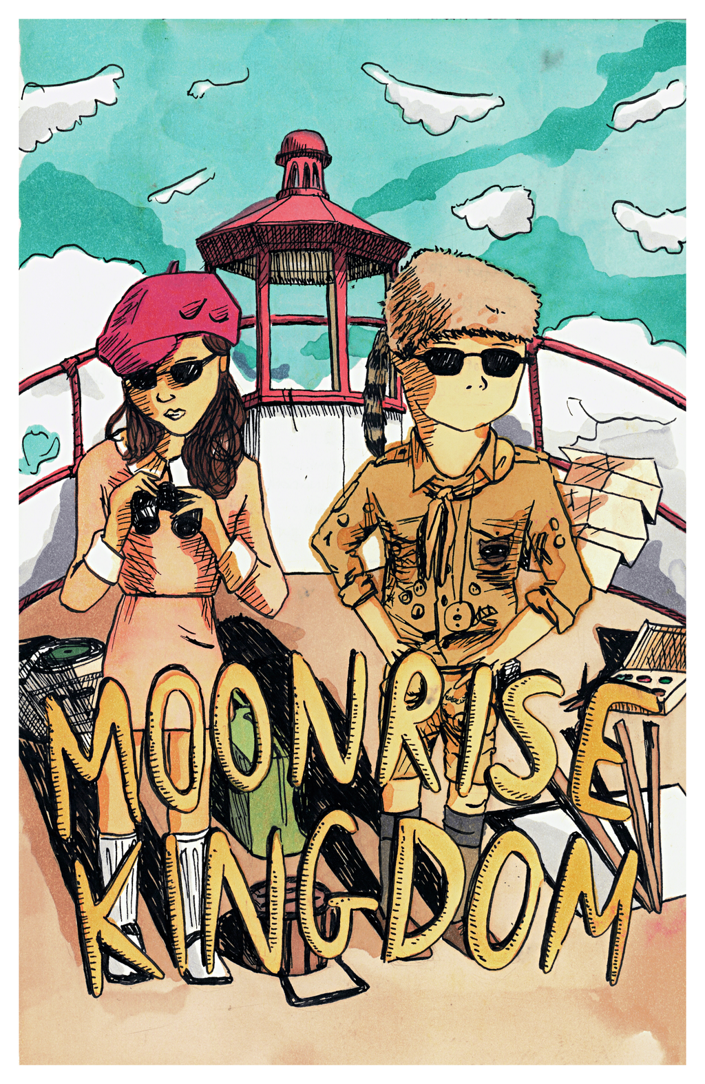 Moonrise Kingdom by egonSchiele