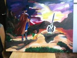 Fire Emblem Path of Radiance Funeral Painting
