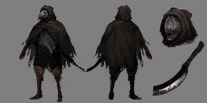 Concept Art - Crow assassin