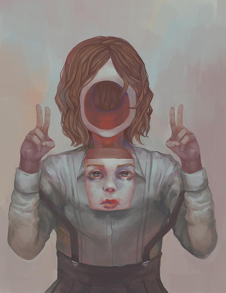unmasked ii - dysphoria by Nine-Bullet-Revolver