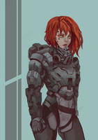 Battle Girl by Pizza-Surgeon