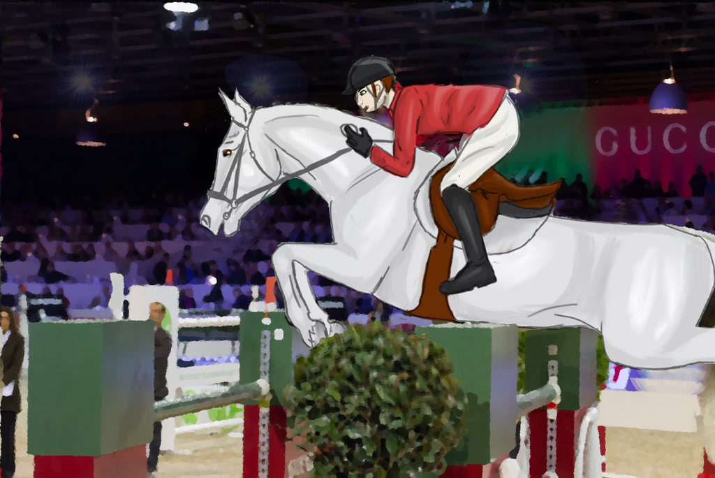 Une soirée Chatbox ? Horse_jumping_by_spiritxziras-d72jc7n