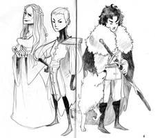 A game of thrones by Detvil