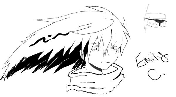 Emily's Fanart of Rikuo Nura by SMAB007