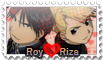 RoyXRiza Stamp by AdryJustend