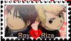 RoyXRiza Stamp by AdryJustend