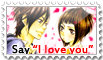 Say 'I love you' Stamp by AdryJustend
