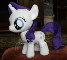 baby Rarity plush by hystree