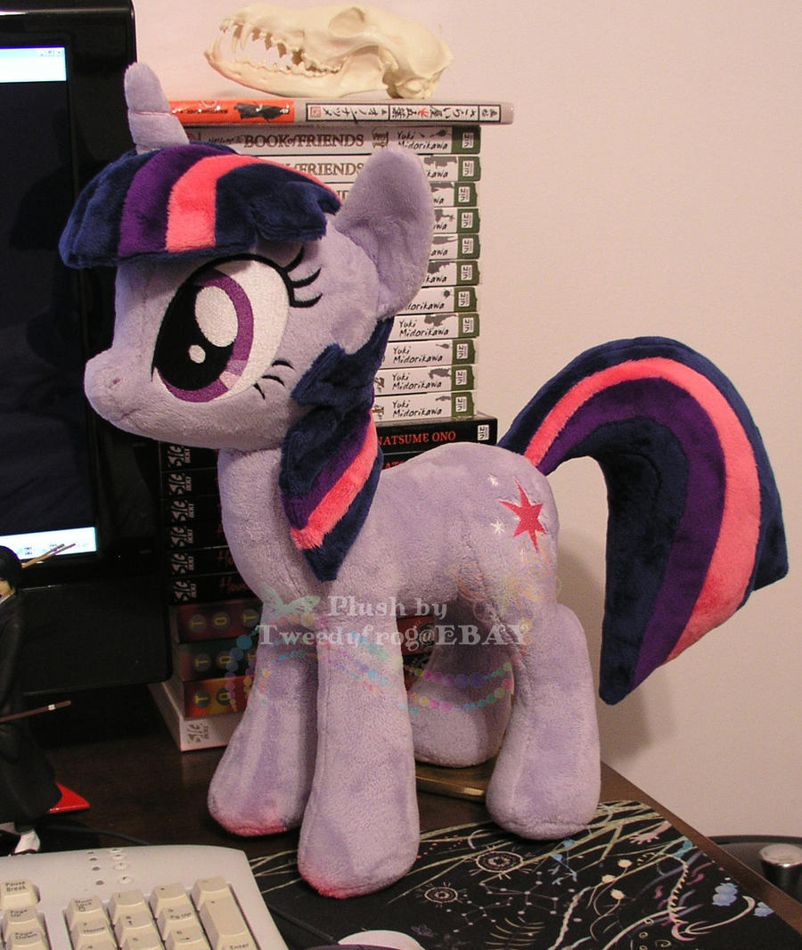 Twilight Sparkle plushie by hystree