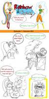 Rainbow and Cloud Comic