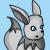 Pokemon: Shiny Eevee Icon by mashashy