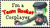 F Team Rocket Cosplayer Stamp by mashashy