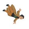SPRITE Hexx falling by jackcrowder