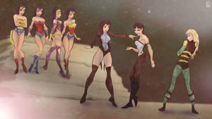 Wonder Women x Zatanna x Black Canary