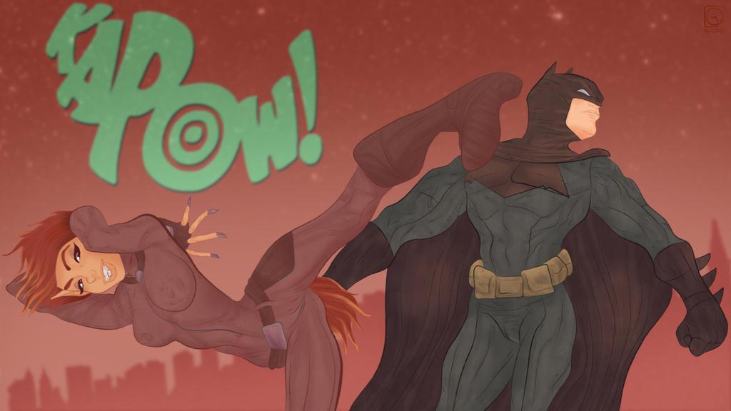Genesis takes down the Batman by jackcrowder